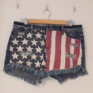 Mossimo denim jean shorts